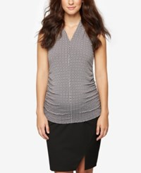 A Pea In The Pod Maternity Pencil Skirt Black
