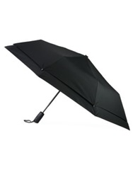 Saks Fifth Avenue Windefyer Logo Umbrella Black