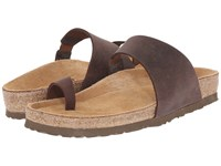 Naot Footwear Santa Fe Crazy Horse Leather Women's Sandals Brown