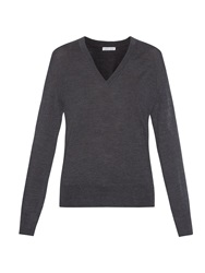 Tomas Maier V Neck Wool Sweater
