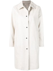 Mackintosh Natural Storm System Linen Coat Lm 079St P Neutrals