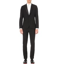 Paul Smith Soho Fit Wool And Mohair Blend Evening Suit Black