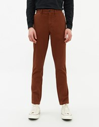 Saturdays Surf Nyc John Chino Pant In Cinnamon Size 28 100 Cotton