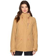 Roxy Torah Bright Andie Jacket Bone Brown Women's Coat Yellow
