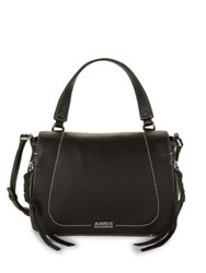 Aimee Kestenberg Gianna Leather Crossbody Bag Black