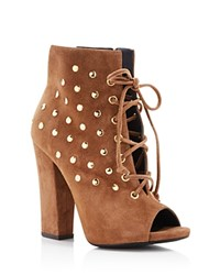 Giuseppe Zanotti Studded Alien Lace Up Booties Cam Lepre