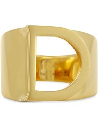 Chloe Alphabet D Ring Gold