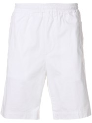 Mauro Grifoni Classic Fitted Shorts White