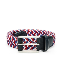 Andersons Anderson's Woven Textile Belt Navy Red And White