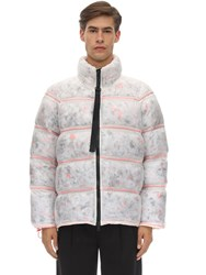 Christopher Raeburn Off Cut Insulation Puffer Jacket Multicolor