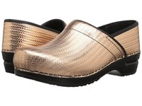 Sanita Signature Professional Cairo Gold Women's Clog Shoes