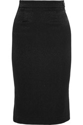Vivienne Westwood Stretch Cloque Pencil Skirt Black