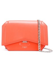 Givenchy Mini 'Bow' Crossbody Bag Yellow And Orange
