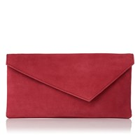 Lk Bennett Leonie Clutch Bag Raspberry