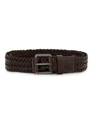 Egrey Leather Belt Brown