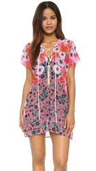 Clover Canyon Poppy Blossoms Cover Up Multi