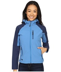 Outdoor Research Ferrosi Hoody Cornflower Night Women's Sweatshirt Blue