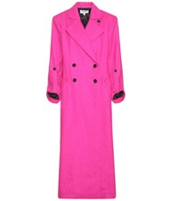Public School Asper Wool Blend Coat Pink