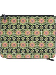 Givenchy Carpet Print Pouch Black