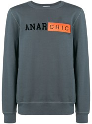 Dondup Anar Chic Sweatshirt Grey