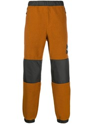 The North Face Panelled Straight Trousers Brown