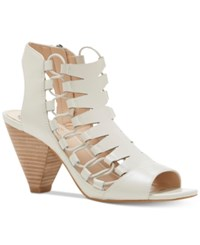 Vince Camuto Eliaz Gladiator Dress Sandals Women's Shoes Off White