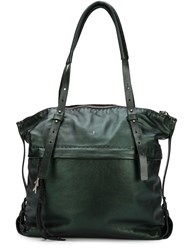 Henry Beguelin 'Vanda' Tote Bag Green