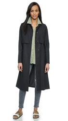 Just Female Norma Trench Coat Dress Blue