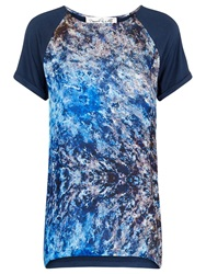 Damsel In A Dress Satellite Print Top Ink
