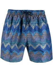 Missoni Zigzag Print Swimming Shorts 60