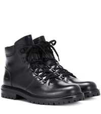 Common Projects Leather Hiking Boots Black