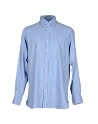 Emma Willis Shirts Shirts Men Azure