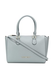 Emporio Armani Logo Shoulder Bag Grey