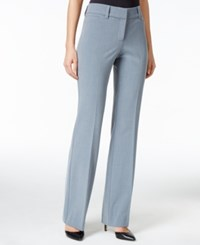 Styleandco. Style And Co. Tummy Comfort Flared Pants Only At Macy's Heather Folkstone