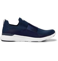Apl Athletic Propulsion Labs Techloom Bliss Slip On Running Sneakers Navy