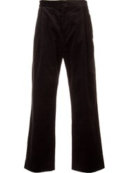 H Beauty And Youth. Corduroy Trousers Black