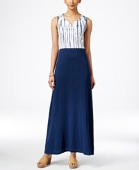 Styleandco. Style And Co. Tie Dyed Maxi Dress Only At Macy's Placed Dye