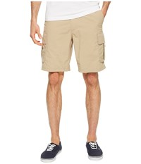 Quiksilver Waterman Skipper Cargo Shorts Twill Taupe
