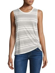 Feel The Piece Barry Striped Tank Navy