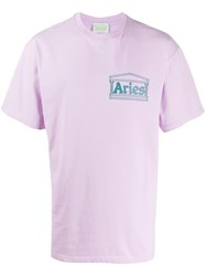 Aries Chest Logo T Shirt 60