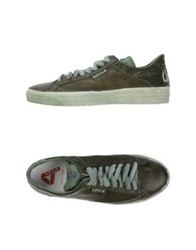 Cycle Low Tops And Trainers Military Green