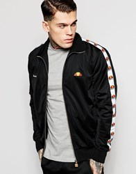 Ellesse Track Jacket With Taping Anthracite