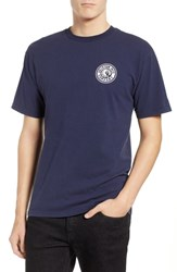 Brixton Rival Ii Graphic T Shirt Navy White