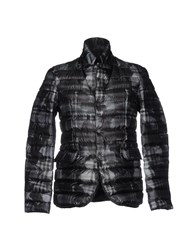 313 Tre Uno Tre Down Jackets Steel Grey