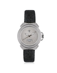 Lancaster Pillola Deco' Women's Watch W Diamonds Silver