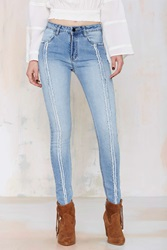 Nasty Gal Denim Join The Fray Skinny