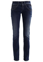 Replay Newswenfani Straight Leg Jeans Darkblue Denim Dark Blue Denim