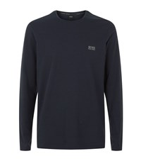 Hugo Boss Lounge Long Sleeve T Shirt Male Navy