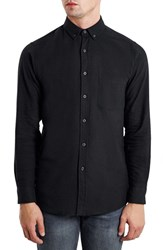 Men's Topman Slim Fit Brushed Twill Shirt