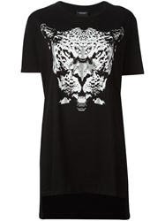 Marcelo Burlon County Of Milan Leopard Print T Shirt Black